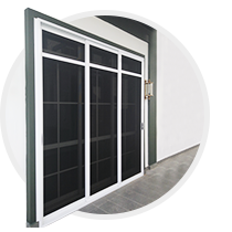 Aluminium Stainless-Steel Net Door & Window