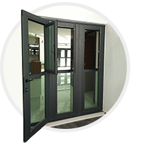 High performance folding door